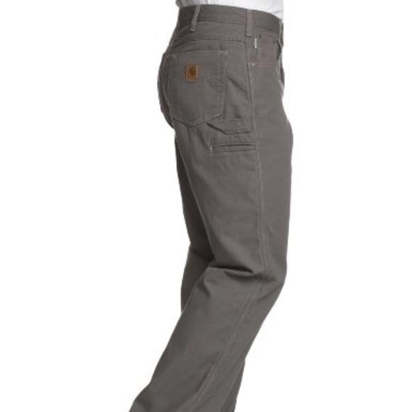 c37b5be542 Carhartt Pants | Mens Loose Fit 5 Pocket Canvas Carpenter Pant ...
